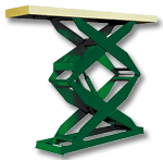Southworth Spacesaver Scissor Lift Tables
