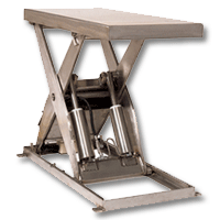 Southworth Stainless Steel (Food Grade) Scissor Lift Table